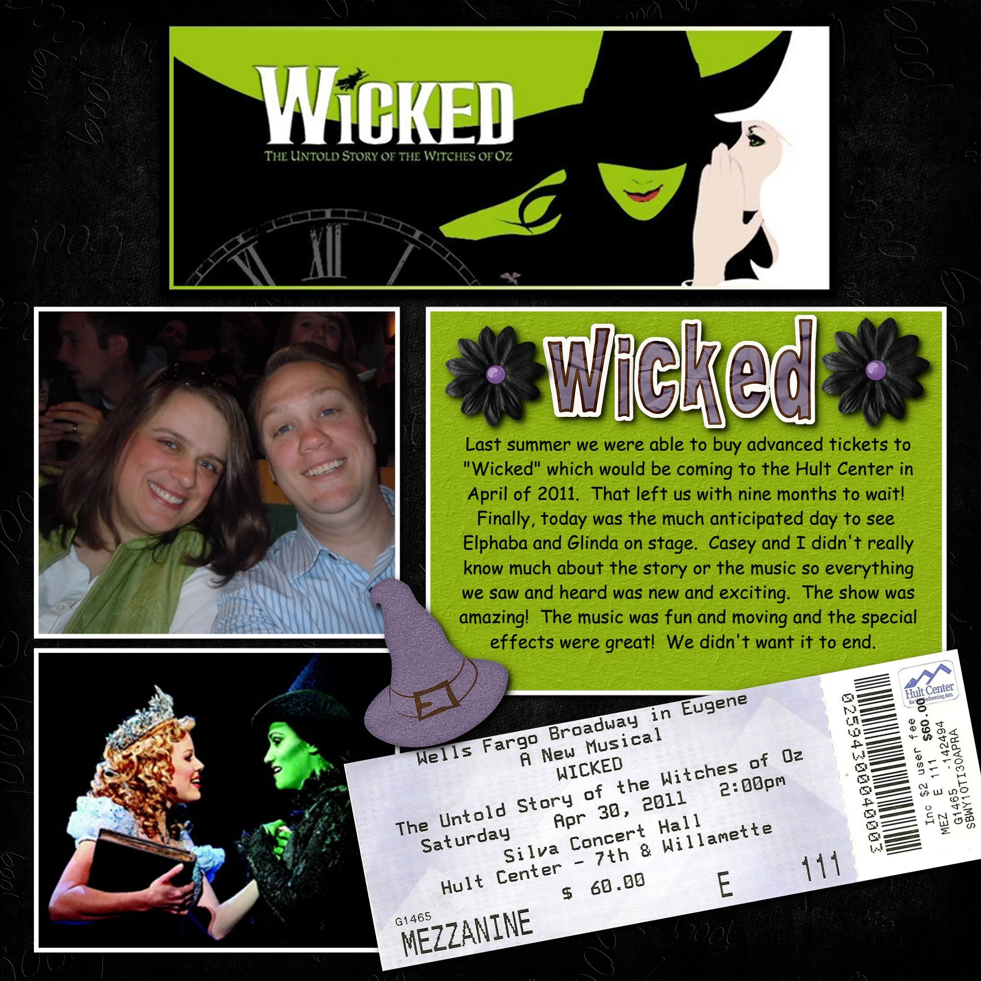 Scrapbook ideas military - Wicked Scrapbook Com I Need To Do This W My Wicked Ticket