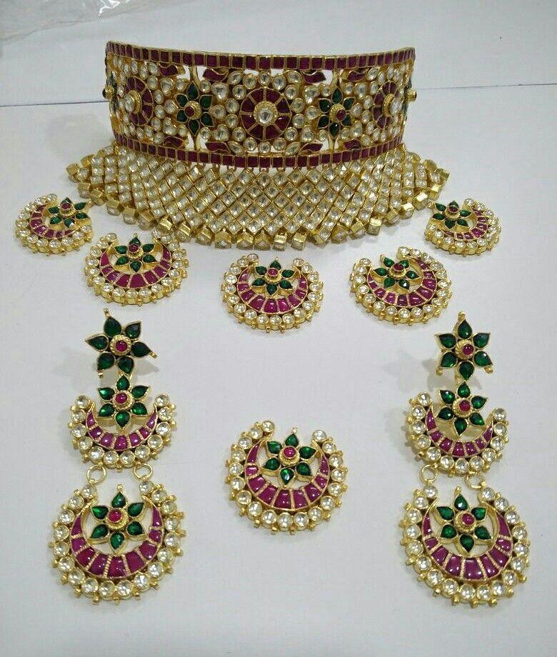 Beautiful jadau kundan aad | Jwellery | Pinterest | Indian jewelry ...