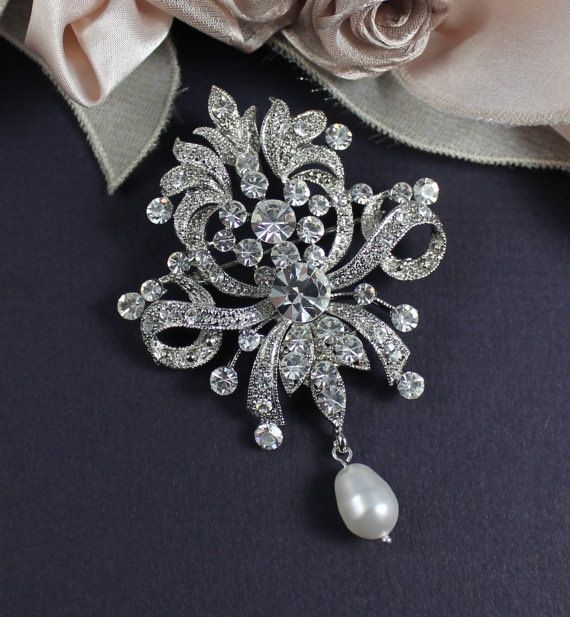 Image Result For Wedding Brooches Wedding Accessories Shoes Victorian Wedding Jewelry Swarovski Wedding Dress