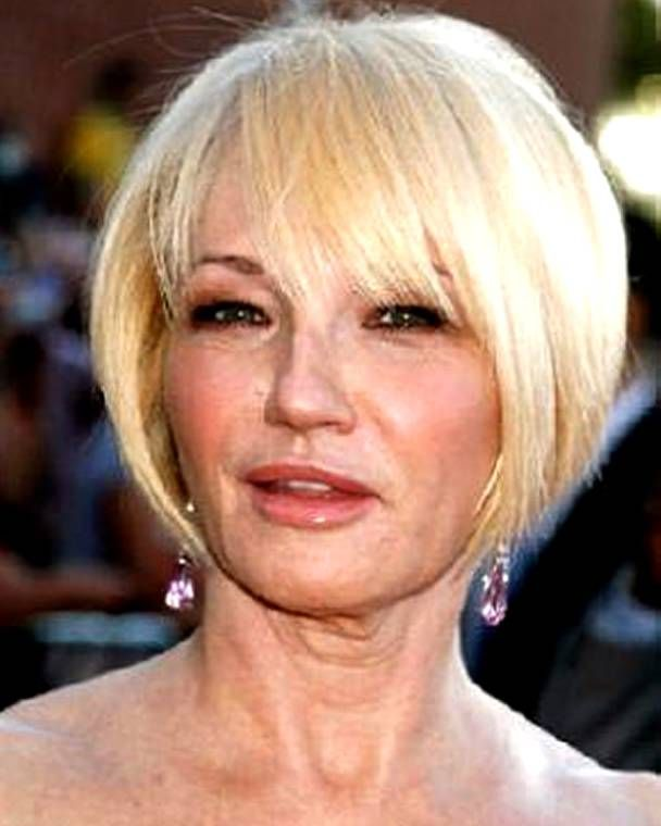 pictures of stacked bob haircuts on thin hair over 16 - Google ...