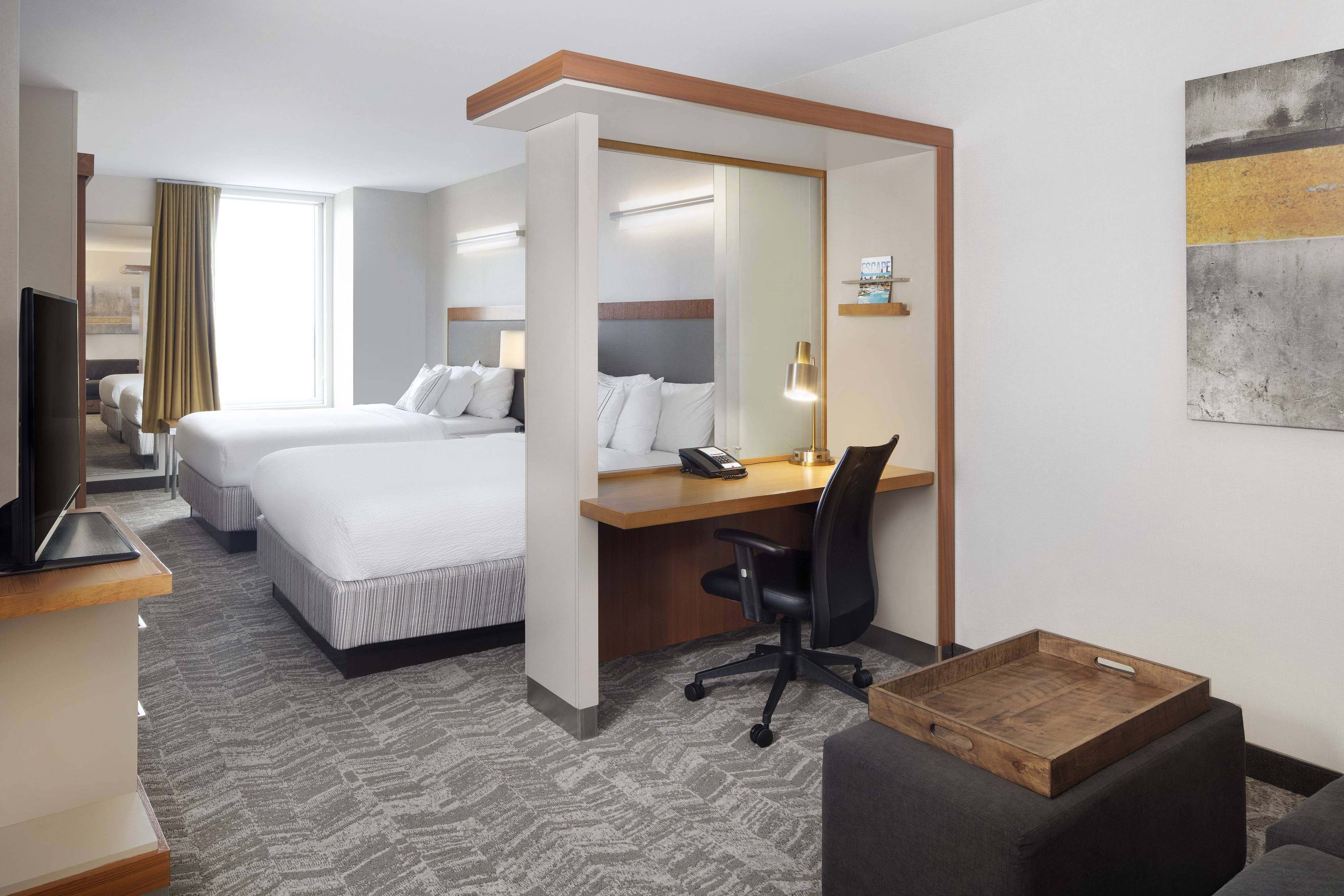 SpringHill Suites Indianapolis Downtown High Floor Queen