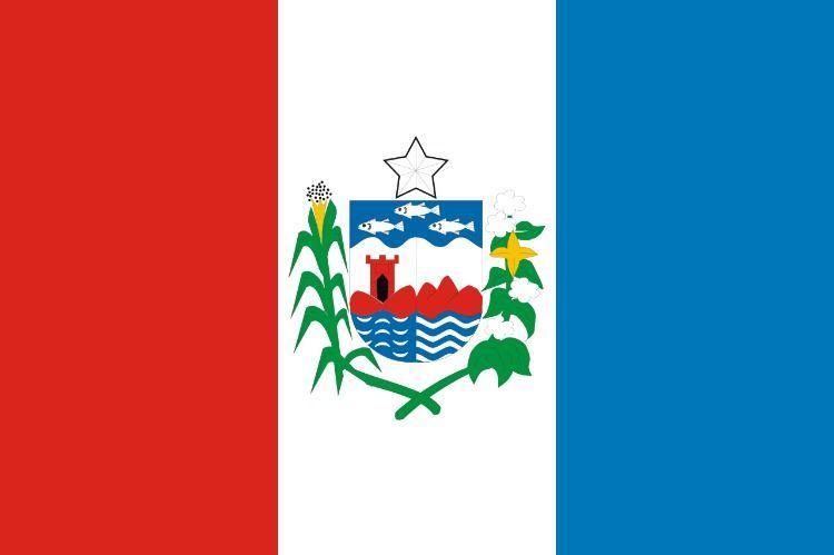 Alagoas Bandeira O Brasao Simboliza As Primeiras Cidades