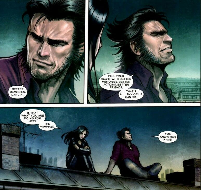 Laura and wolverine
