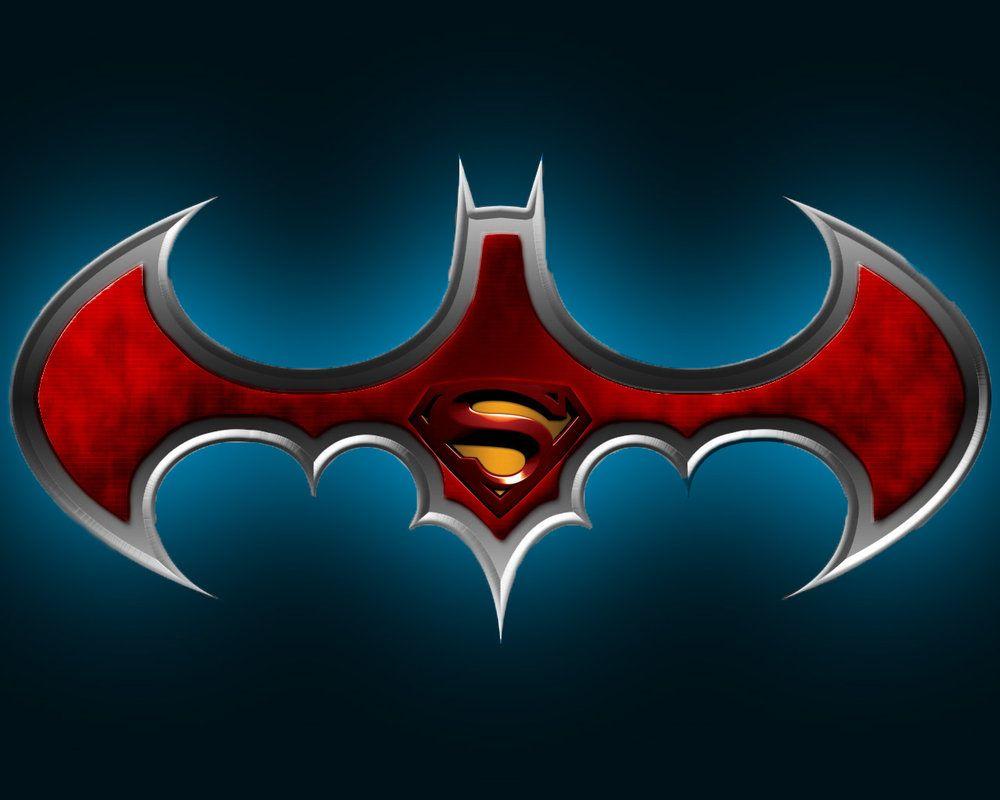 Batman superman comics pinterest superman logo batman and this is the batman superman logo morphed together i would really appreciate points towards a premium membership please donate if you ca biocorpaavc Choice Image