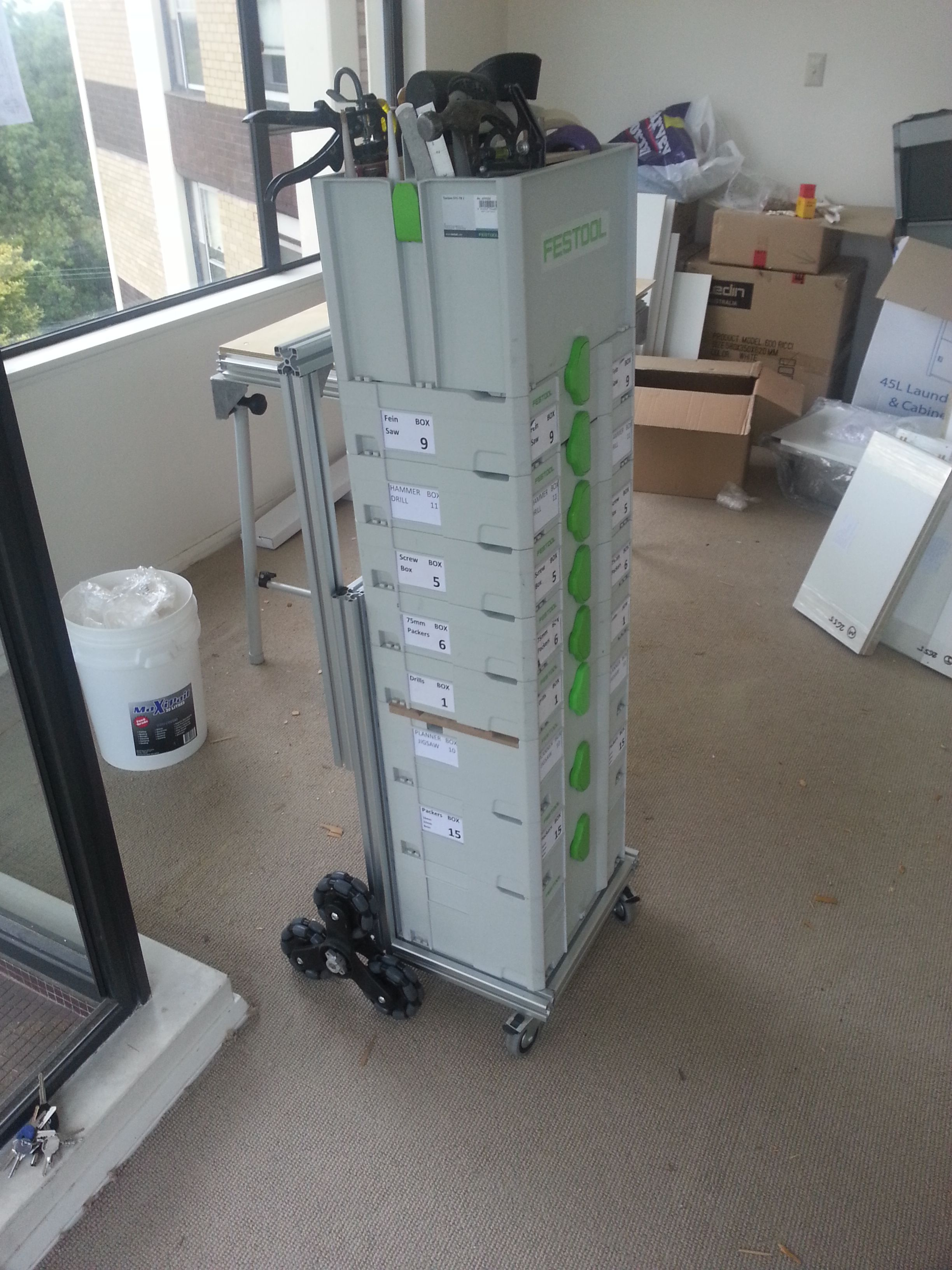 Systainer clone - http://festoolownersgroup.com/festool-and-tanos ...
