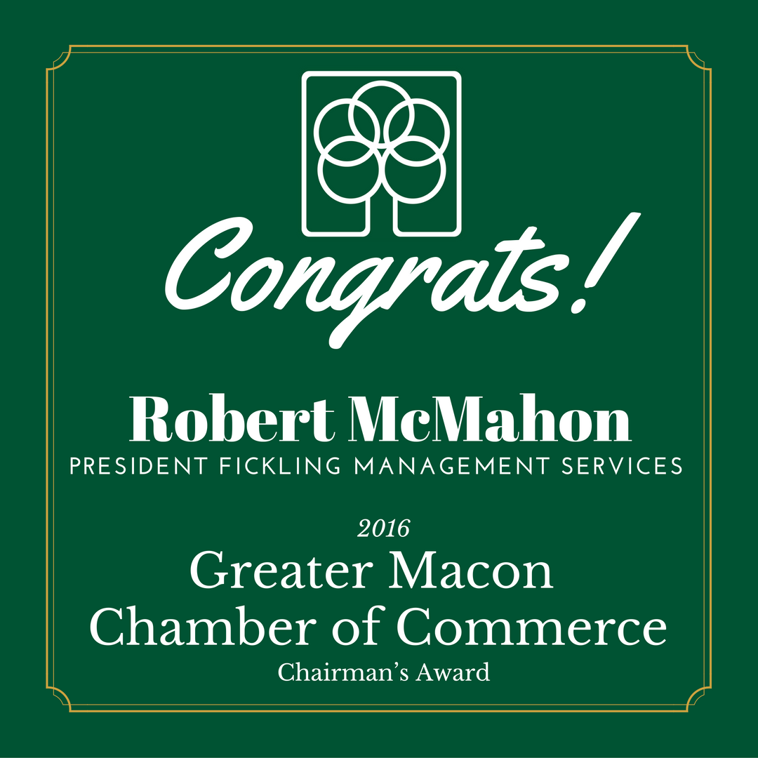 Members of the Fickling & Company family awarded during the Greater Macon Chamber of Commerce 156th annual meeting - bit.ly/2hfz7IS