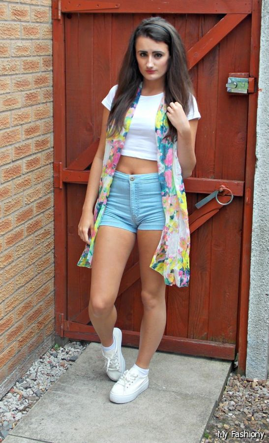 ad738a50b2bf Image for Cute High Waisted Shorts Outfits Tumblr 2015 2016 ...