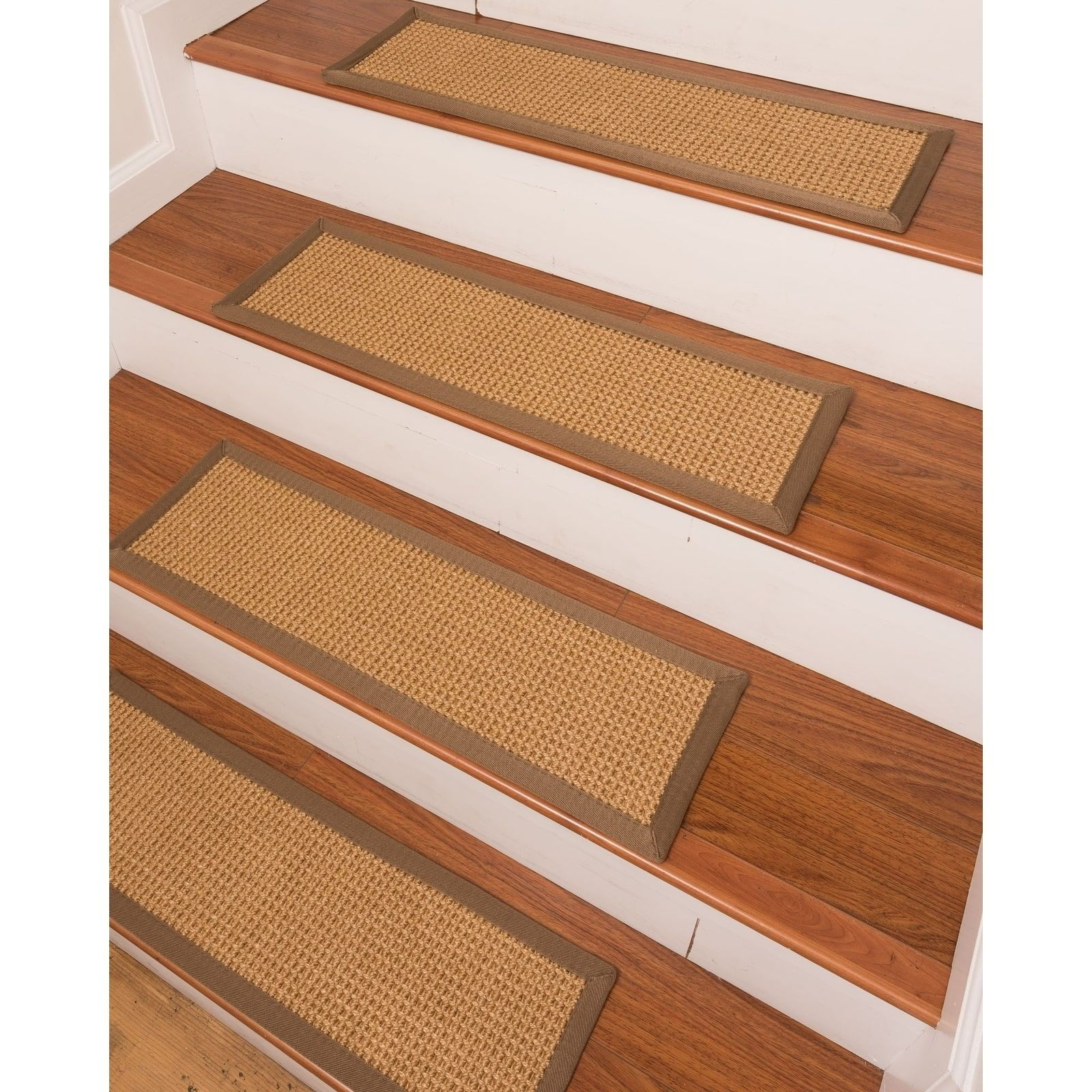 Best Russell Sisal Carpet Stair Treads Set Of 13 13Pc 9 X 400 x 300