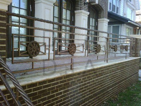 Best Twist Rope Handrail Exterior Steel Wrought Iron 640 x 480