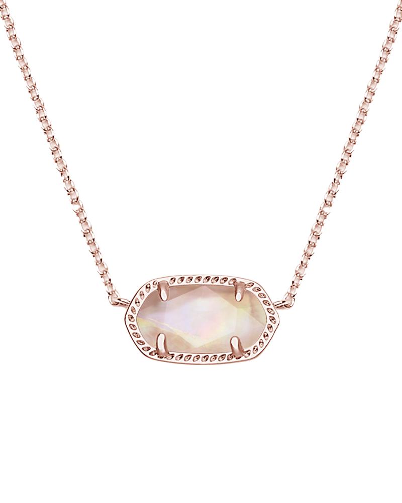 New Elisa Pendant Necklace In Brown Pearl Kendra Scott