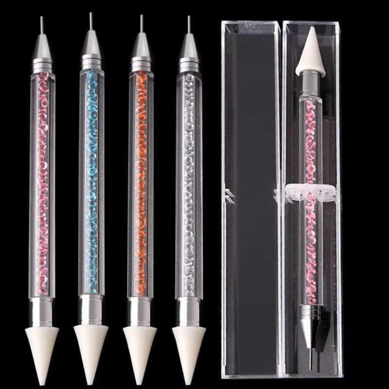 Double Head Crystal Point Drill Pen for 5D Diamond Painting Crafts Cross Stitch