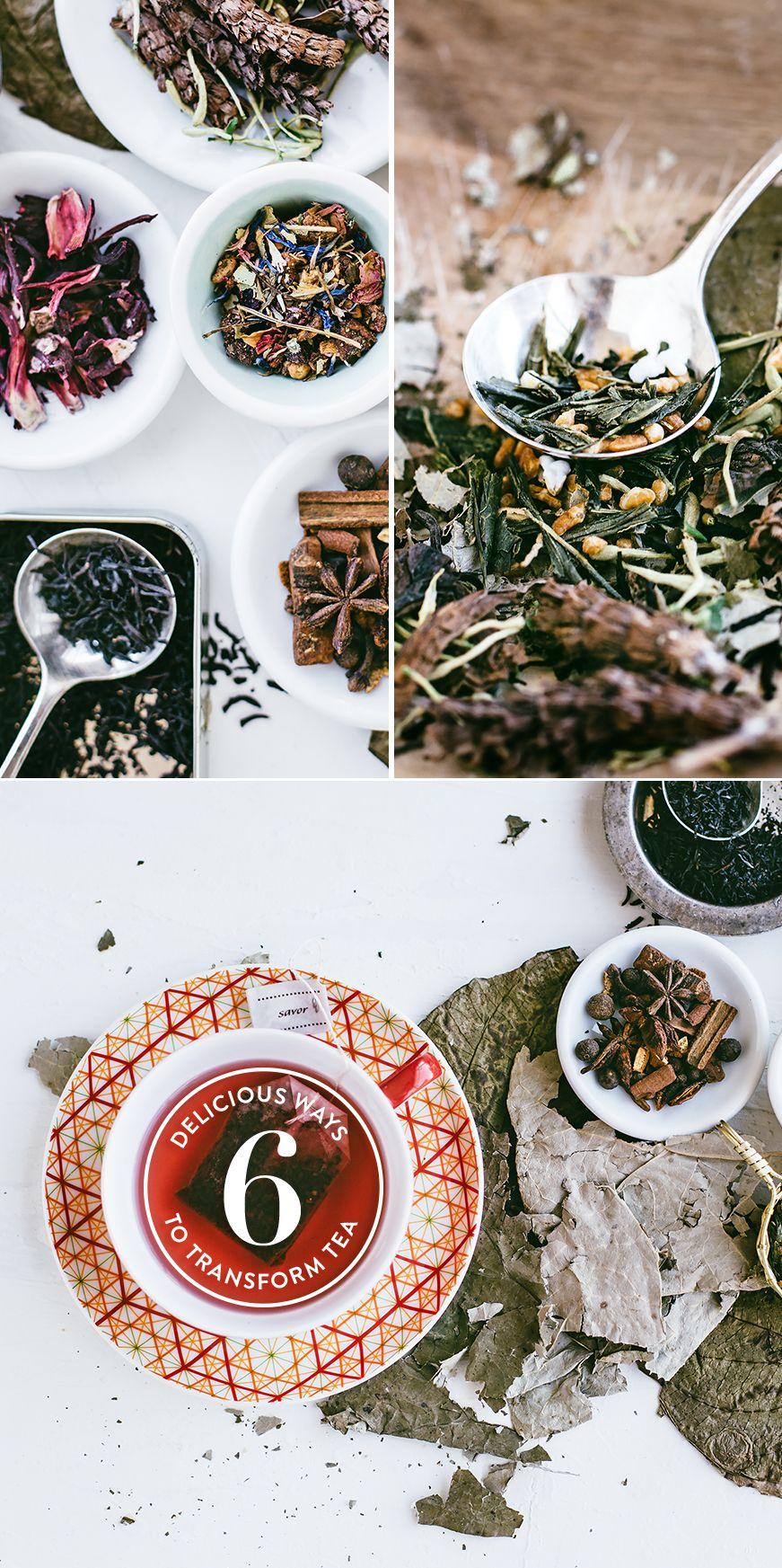 6 Delicious Ways to Transform Tea #Luvo #Tea #Recipes