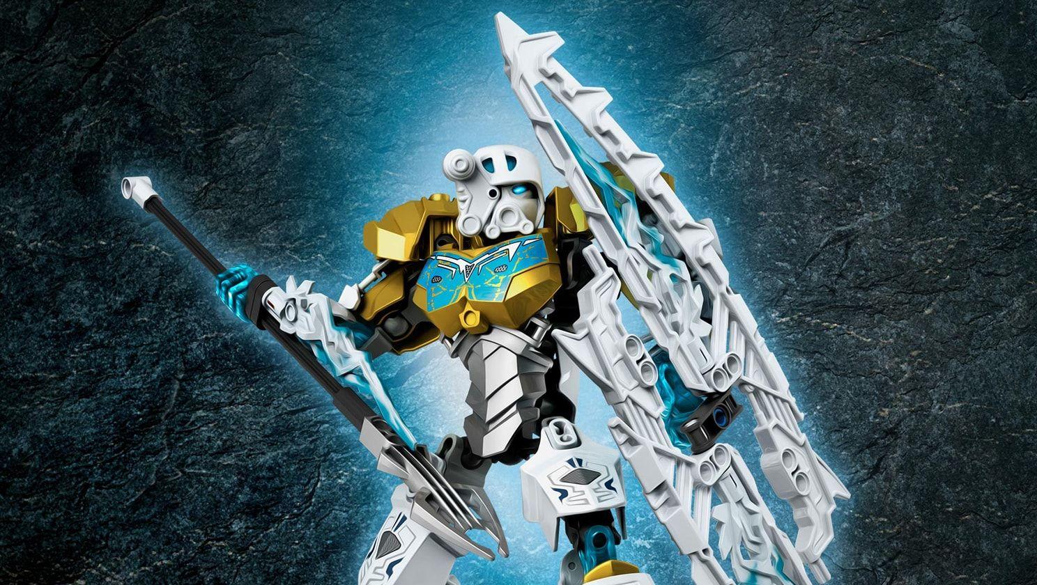 Kopaka Master Of Ice Wallpapers Activities Lego Bionicle Lego Com Lego Bionicle Bionicle Lego