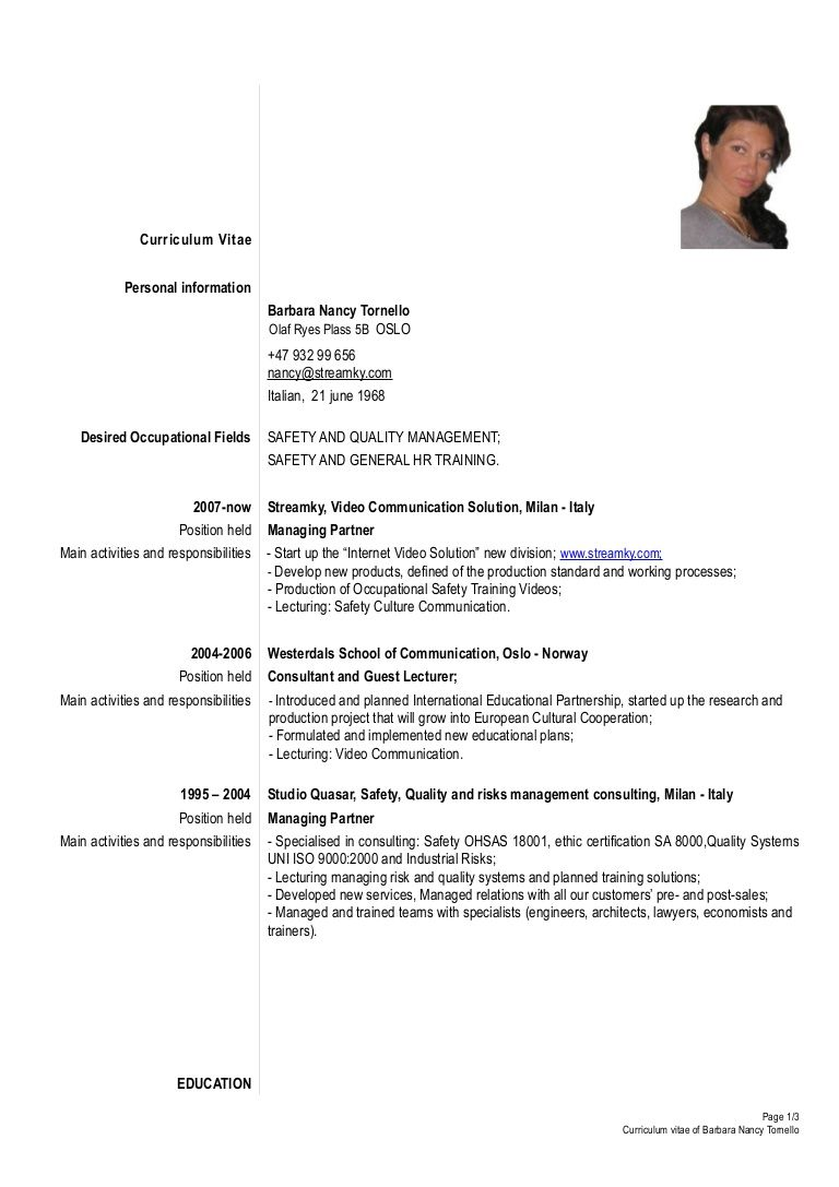 Pin by Khen\'z Khen\'z on erna | Resume templates, Resume ...