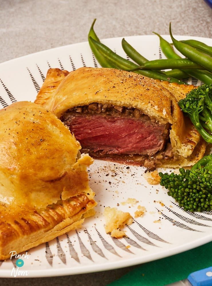 Beef Wellington Pinch Of Nom Beef Wellington Beef Recipes Clean Eating Recipes
