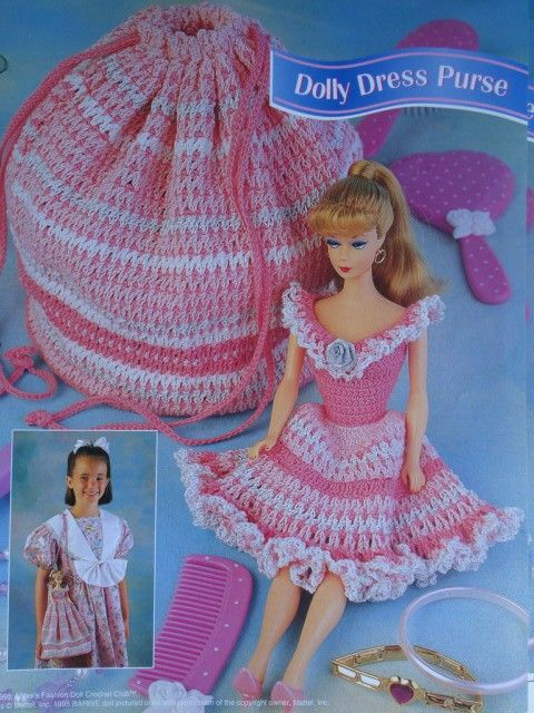 Free Crochet Barbie Dresses Free Pattern Barbie Crochet Dress