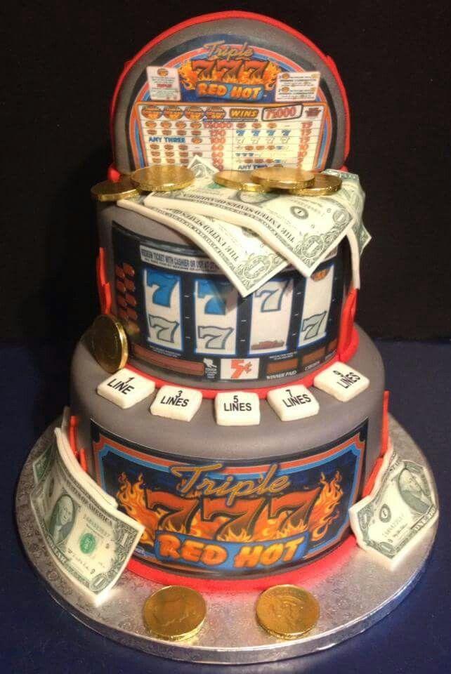slot machine cakes designs