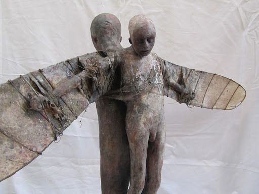 Marc Janssens | Ceramic sculpture figurative, Sculpture museum, Figurative  sculpture