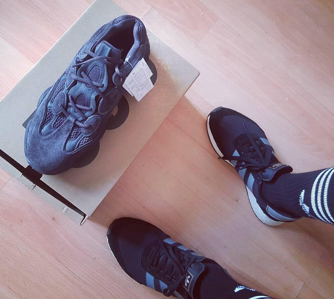 1a06bb151ea  adidas  yeezy  yeezy500  yeezy500utilityblack  boost  adidasboost   addidasoriginals  3stripestyle