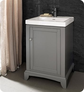 1504 V2118 Fairmont Designs Smithfield 21 X 18 Inch Vanity In Medium Gray