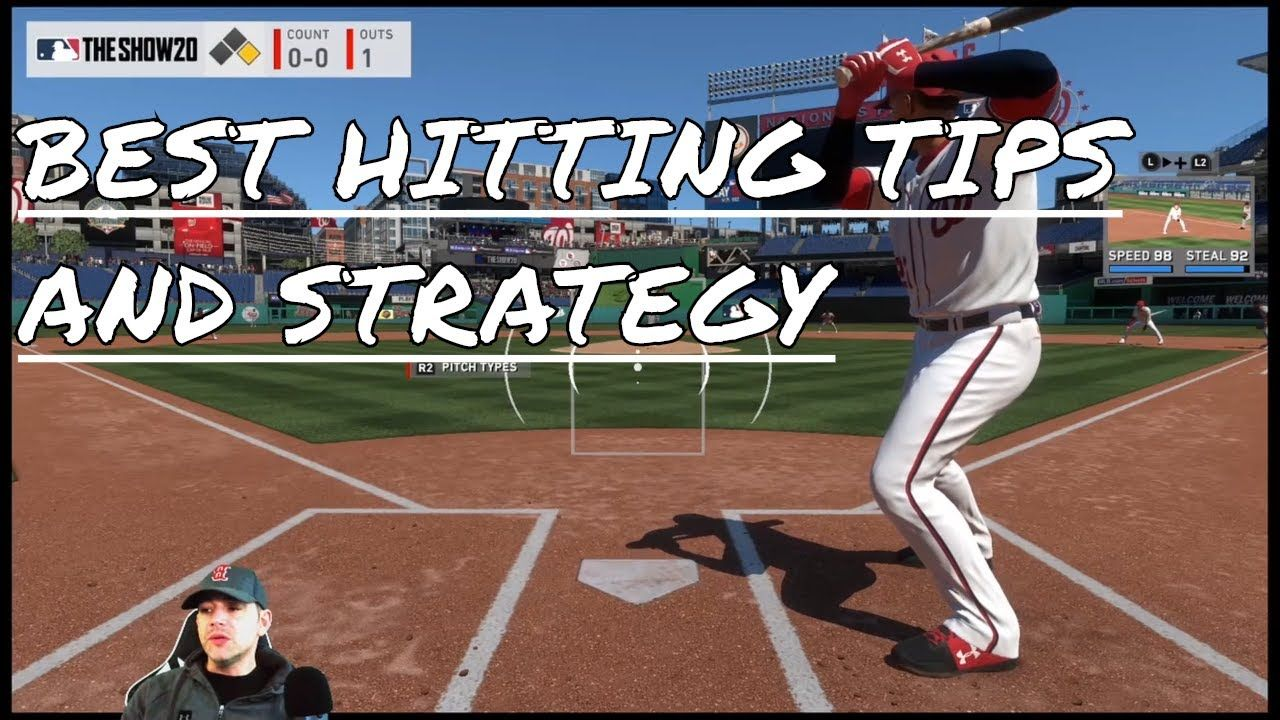 Best Hitting Tips And Strategy Mlb The Show 20 In 2020 Mlb The Show Mlb Tips