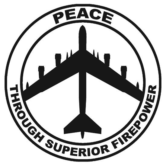 #Peace Through Superior #Firepower #Freedom #Armed Forces