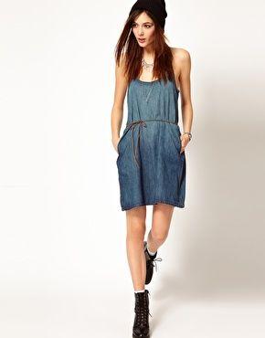 Agrandir Levis - Robe en jean avec poches   I love  3   Pinterest 5bc7d5789b4c
