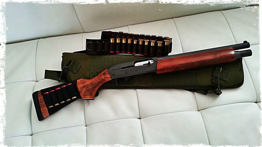Remington 1100 semi-auto 12 ga Short CHOKED Barrel   Boom