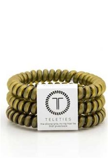 2bfc23fa46c8 Teleties+Small+Bands+Pack+in+Olive+Green+TT-S-062 | Accessorize in 2019 | Hair  ties, Preppy bracelets, Curly hair styles