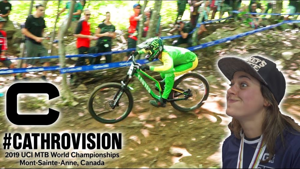 Was The Big Gap Faster Mont Sainte Anne World Champs Day 4 Cathrovision 2019 Youtube Mont Sainte Anne Champs World Championship