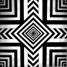 black and white simple optical illusions | Optical ...