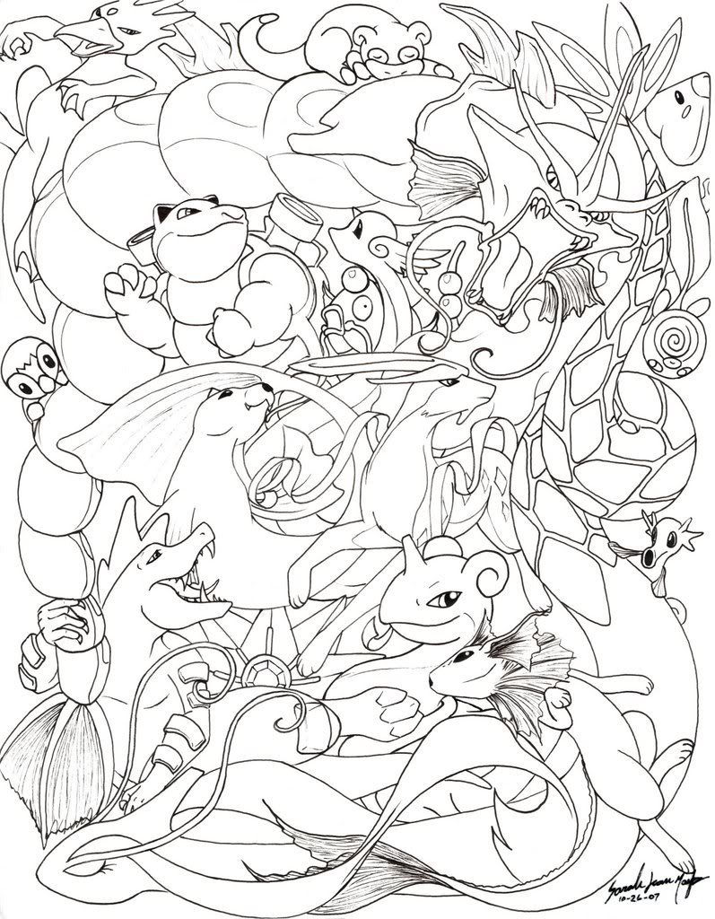 Piplup Coloring Pages  Boys Gaming  Pinterest  Coloring and