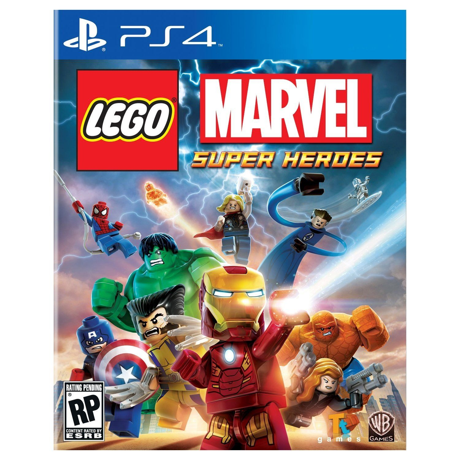 Lego Marvel PS4 Kids are loving this game! Lego marvel