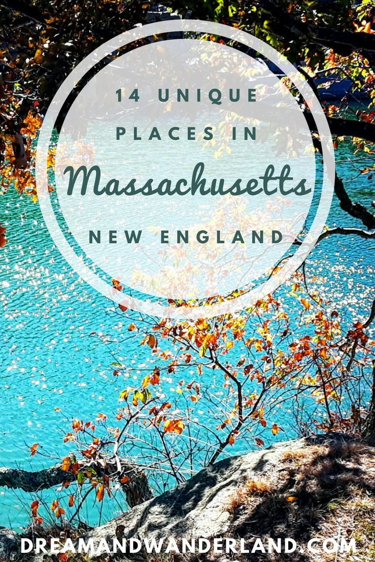 New England: 14 Unique Places And Things To Do In Massachusetts - Dream and Wanderland #travelnorthamerica