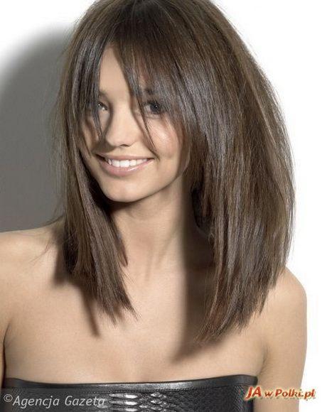 Fryzury Z Gestych Wlosow Hair Włosy Fryzury I Krótkie Włosy