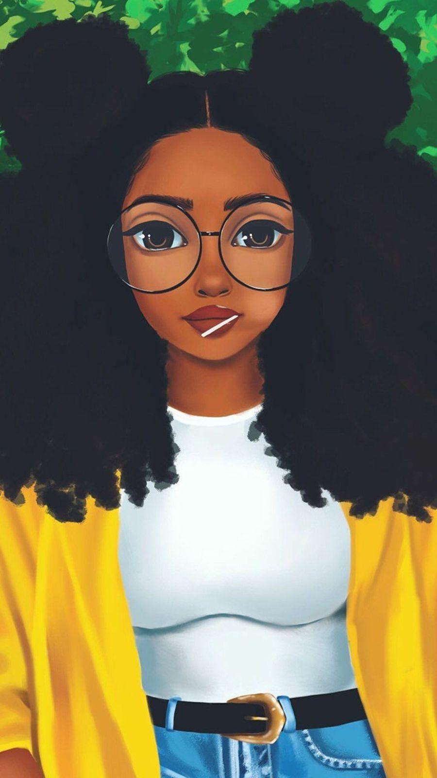 Free By Zedge 2020 Siyah Sanat Siyah Kadin Sanat Afro Sanat