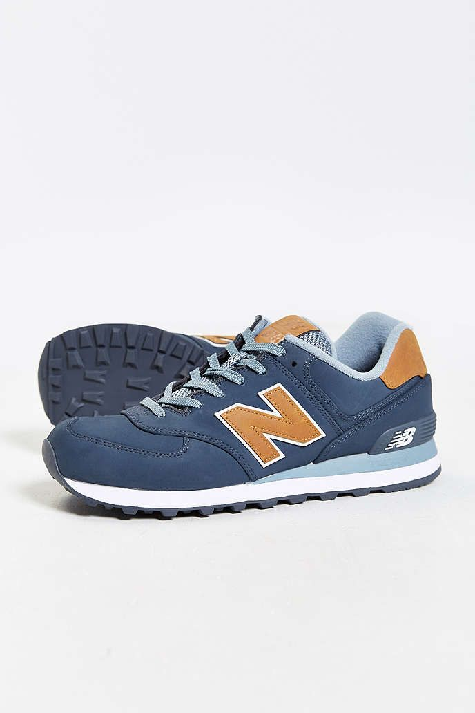 new balance ml 574 lux leather schuhe