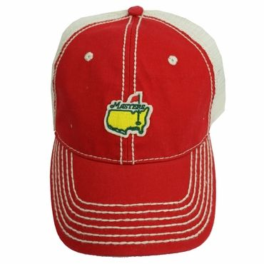 75fe564ceaf36 Masters Trucker Hat has a mesh back. It is the