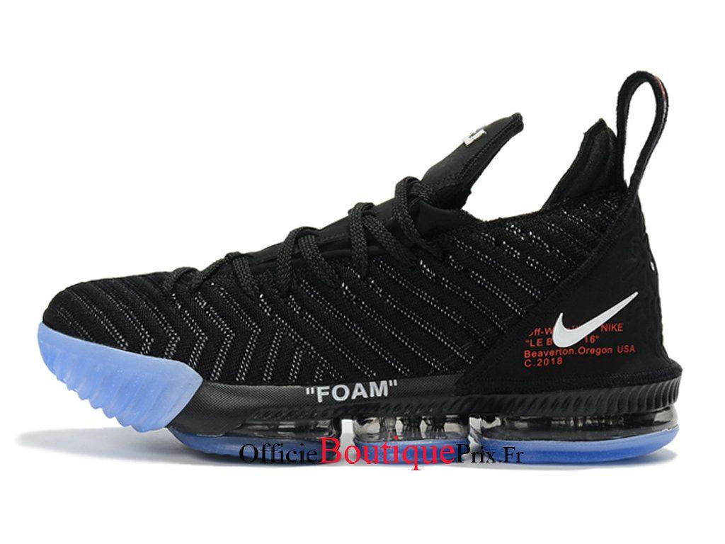 e61b531402e32 Nike LeBron 16 Noir Bleu Chaussures 2018 Officiel Nike Basket Prix Pour  Homme - 1810100334 - Voir les chaussures de Nike Pas Chere pour Homme