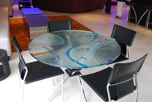 Painted Glass Table Top | Ref. : AIG Table Top 10