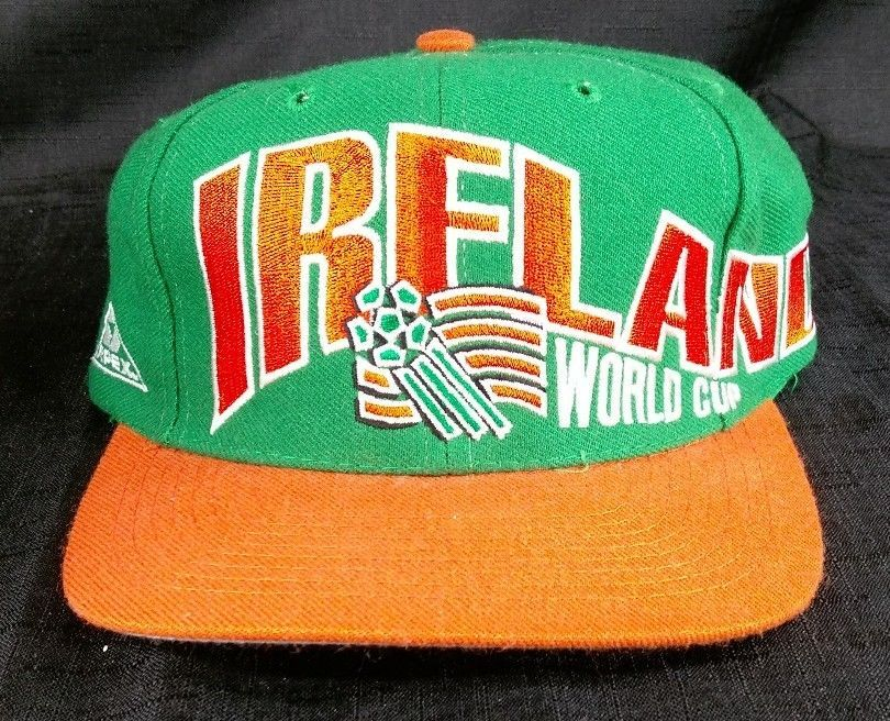 50bc12663fa Vintage 1994 World Cup Soccer IRELAND Apex One Snapback Made in USA Hat Cap  NWOT  ApexOne  Ireland