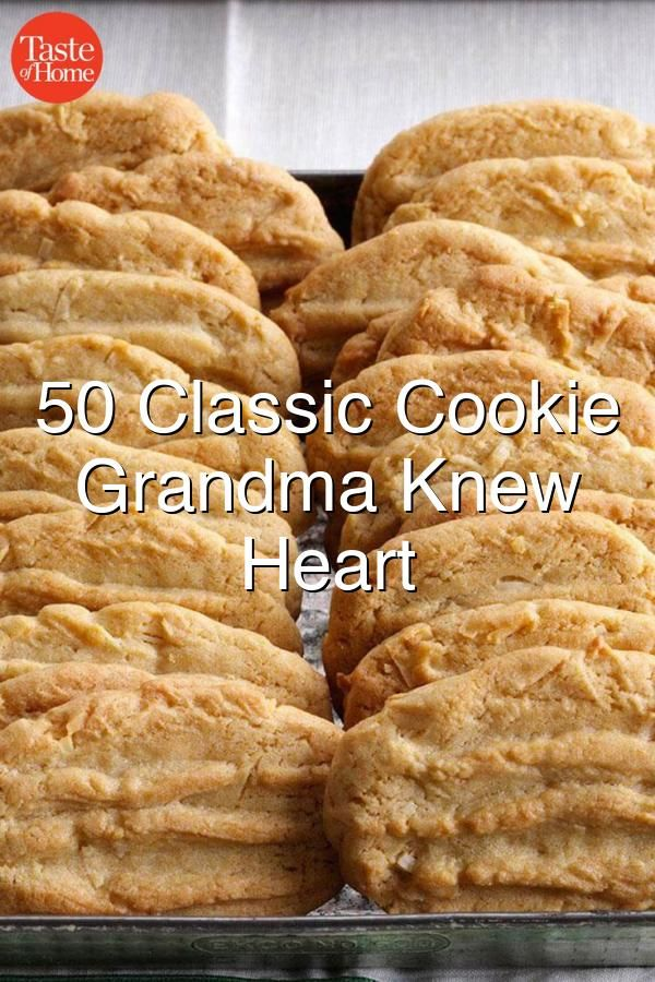 50 Classic Cookie Recipes Grandma Knew By Heart#485