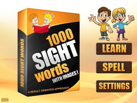 1,000 Sight Words