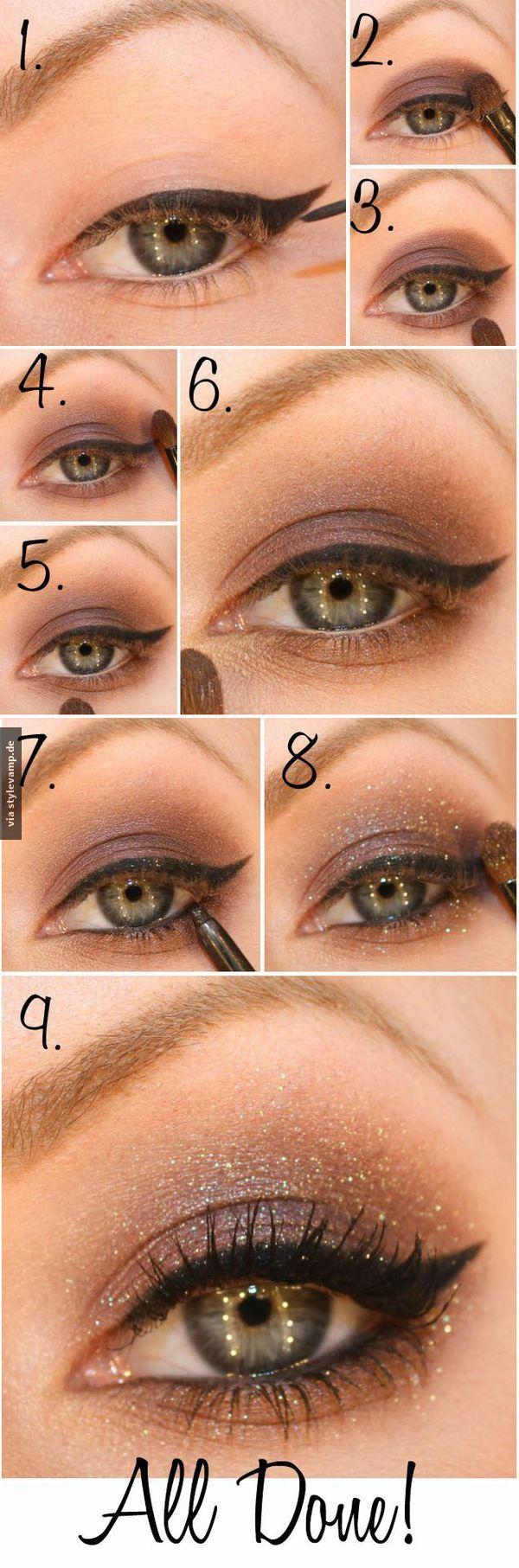 Photo of Wunderschönes Augen Make-up für jeden Anlass