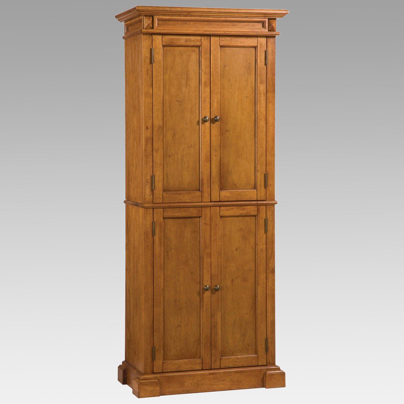 Home Styles Americana Solid Hardwood Cottage Oak Finish ...