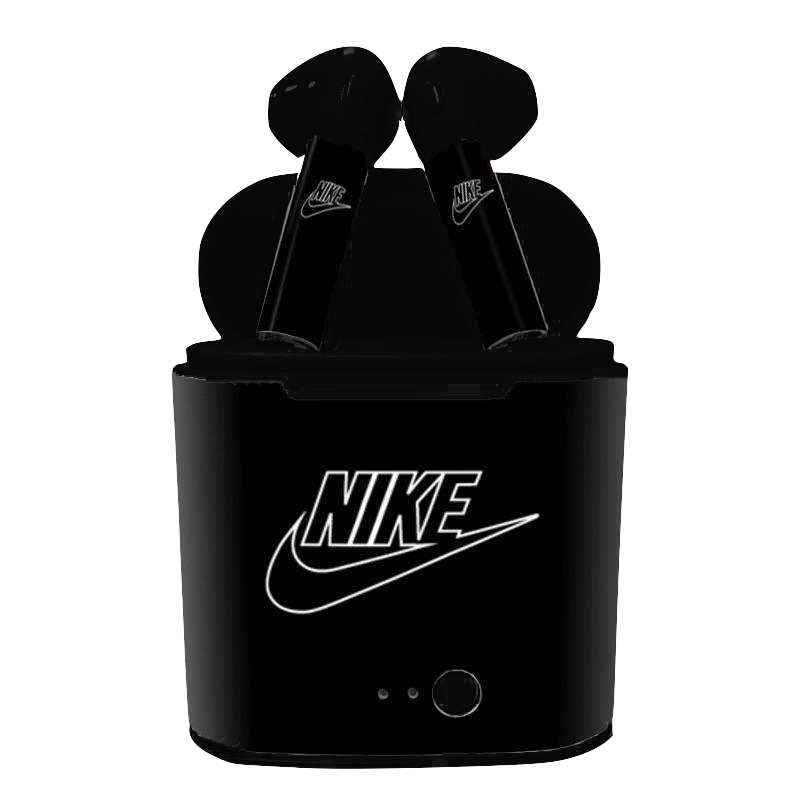 Nike Dark Airpods Air Pods Nike Apple Products