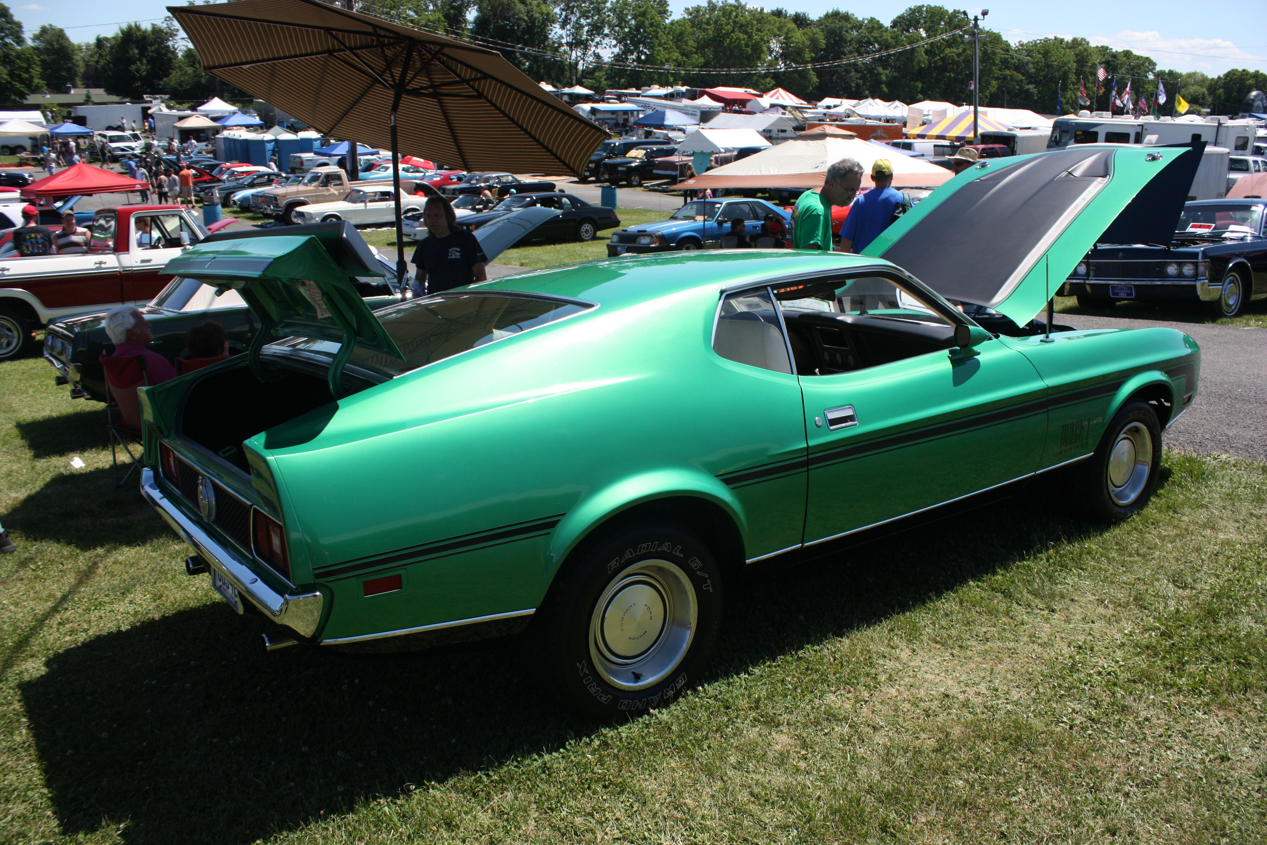 First Ever Cougar To Star At Carlisle Ford Nationals