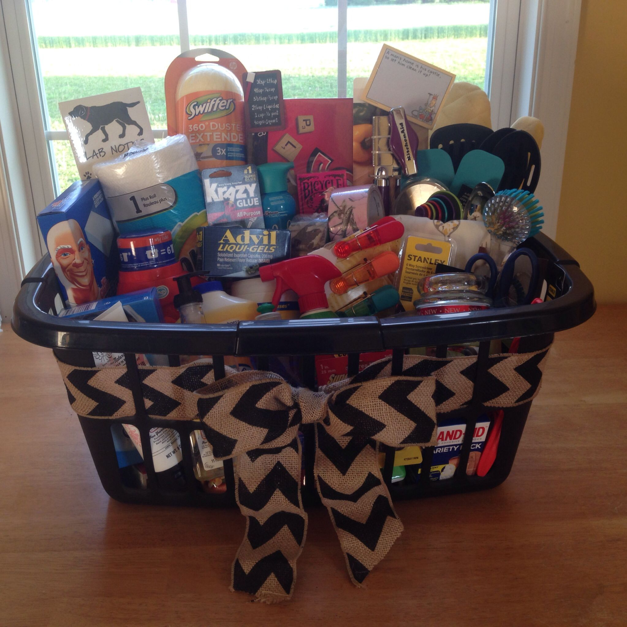 New Home Gifts Gift Baskets Gifts Com: Housewarming Basket For Some Friends Complete With