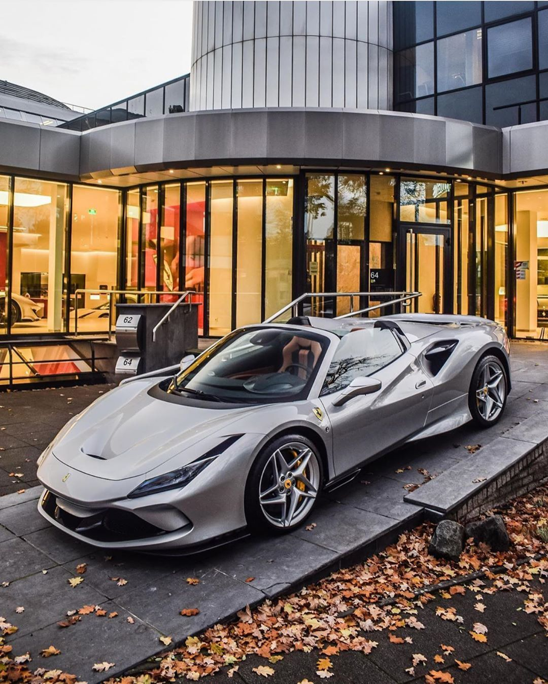 4 406 Vpodoban 16 Komentariv Ferrari F8 Tributo F8tributo V Instagram F8 Spider Arrives For Winter Rides Rossoa In 2020 Ferrari Luxury Cars Dream Cars