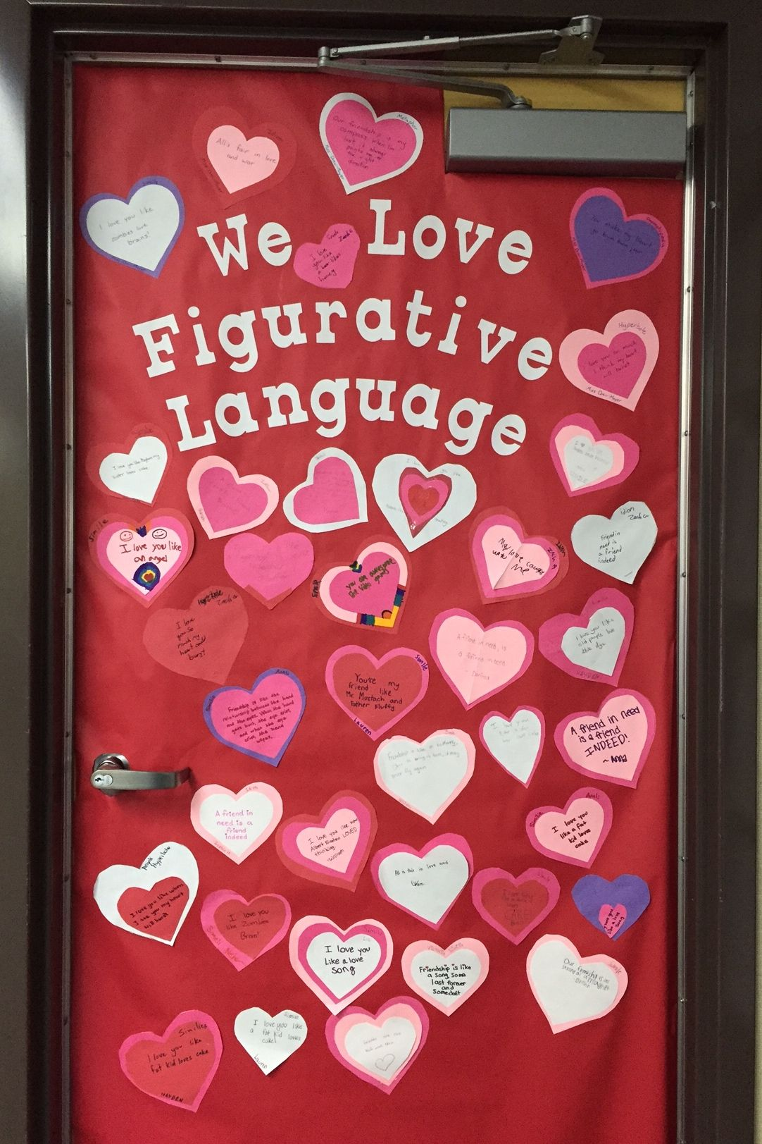Happy Valentine S Day Have Kids Write Similes Metaphors Hyperbole And Idioms About Love And